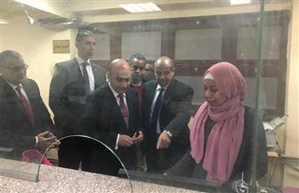 وزير العدل في زيارة تفقدية لمحكمة أسوان