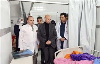 افتتاح قسم الصيدلة الإكلينيكية بمستشفى الأمراض الصدرية بالزقازيق | صور
