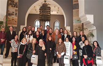 متحف الفن الإسلامي يستقبل مجموعة من زوجات الوزراء والدبلوماسيين | صور