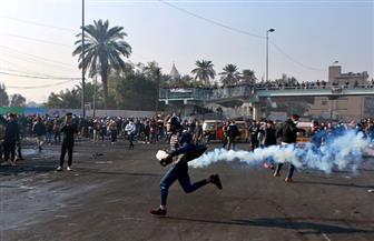 مقتل 4 متظاهرين وإصابة أكثر من 90 في اشتباكات مع الأمن العراقي