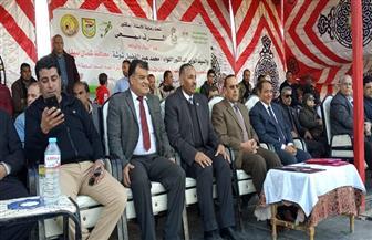 محافظ شمال سيناء يشهد نهائي دوري مراكز الشباب| صور