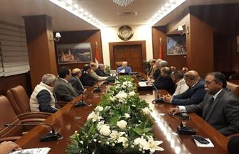 محافظ بورسعيد يشيد بإجراءات منع التهريب| صور