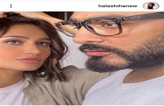 حلا شيحة توجه رسالة لتامر حسني