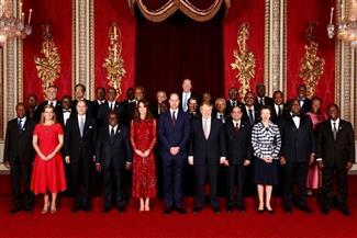 الرئيس السيسي يشارك في حفل الاستقبال الرسمي لرؤساء الوفود المشاركين بقمة إفريقيا بريطانيا للاستثمار