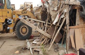 """""""الإسكان"""": جهاز مدينة 6 أكتوبر يشن حملة لإزالة الإشغالات والتعديات بالمدينة"""