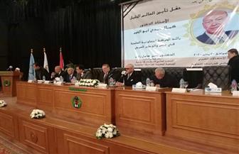 وزير التعليم العالي يشارك في تأبين كمال أبو الخير
