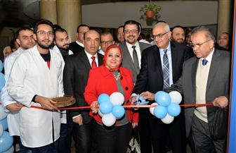 رئيس جامعة المنصورة يفتتح تجديدات قسم 7 جراحة بمستشفى الجامعة الرئيسي | صور