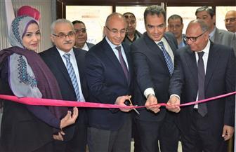 رئيس جامعة الزقازيق يفتتح وحدة فحوص المرأة بمستشفى السلام | صور