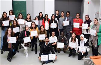 الجامعة الألمانية بالقاهرة تنظم مسابقة لأفضل إستراتيجية في مجال إدارة الأعمال|صور