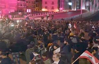 متظاهرون يقطعون جسر الرينغ في لبنان احتجاجا على تشكيل الحكومة.. والجيش يعزز انتشاره