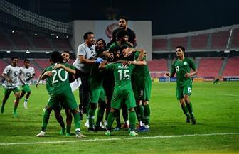 احتفالات «صقور السعودية» بعد التأهل إلى أوليمبياد طوكو 2020 | فيديو
