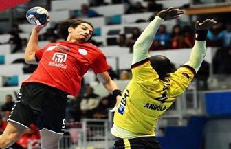 مصر تفوز على أنجولا وتتصدر المجموعة الأولى بربع نهائي أمم إفريقيا لكرة اليد