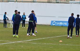 لاعبو الإسماعيلي يرحبون بالوافد الجديد فخرالدين بن يوسف | صور