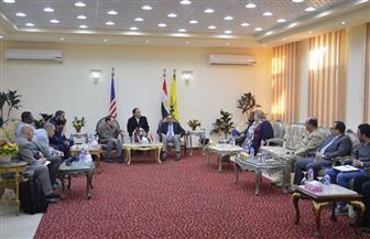 المتحدث العسكري: زيارة وفد من الكونجرس الأمريكي لشمال سيناء