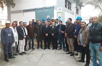 شركة مياه المنيا تنظم دورة تدريبية للربط بين المعامل وتشغيل المحطات