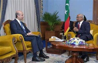 سفير مصر في المالديف يلتقي رئيس الجمهورية وعددا من المسئولين | صور