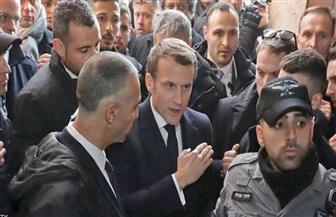 """مشادة """"قوية"""" بين الرئيس الفرنسي والشرطة الإسرائيلية"""