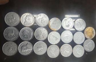 جمارك مطار الغردقة تحبط محاولتي تهريب عدد من العملات الذهبية والتذكارية والأثرية