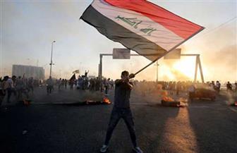 متظاهرون يقطعون العديد من الطرق بمحافظة البصرة العراقية