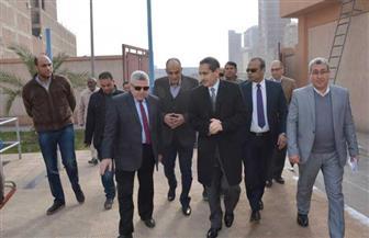 محافظ الغربية يتفقد محطة رفع الصرف الصناعي بالمشحمة في المحلة الكبرى | صور