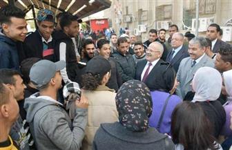 ختام ماراثون امتحانات 200 ألف طالب في جامعة القاهرة | صور