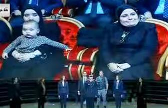 فقرة فنية عن استشهاد العميد وائل طاحون وزوج ابنته في احتفال عيد الشرطة