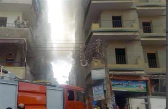 """حريق يلتهم شقة أمام المدينة الجامعية في """"سيجر"""" بطنطا"""