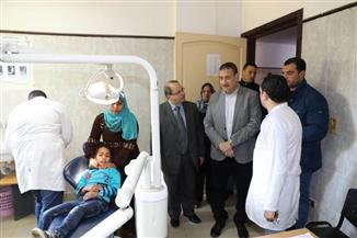 محافـظ المنوفية يتفقد المركز الطبي بكفر داود والمركز التكنولوجي والمدفن الصحي بالسادات | صور