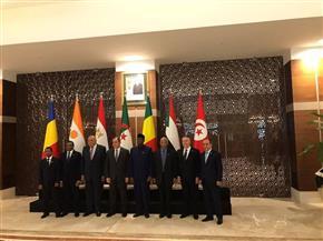 صورة تذكارية للمشاركين بالاجتماع الـ13 لآلية دول جوار ليبيا المنعقد بالجزائر