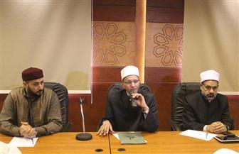 وكيل الأزهر يطالب أئمة وواعظات ليبيا بنشر قيم التسامح والتعايش السلمي | صور