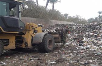 رفع 276 طن قمامة وإزالة 156 حالة إشغال في الفيوم | صور