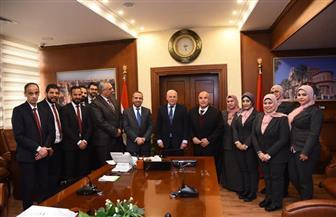 محافظ بورسعيد: مراقبة حركة الاستيراد بالمنطقة الحرة لحفظ حقوق الدولة| صور