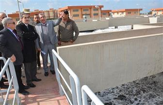 محافظ الغربية يتفقد محطة معالجة مياه الصرف الصحي والصناعي بالدواخلية | صور