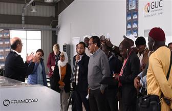 الجامعة الألمانية بالقاهرة تستقبل وفدا إعلاميا ممثلا لـ 23 دولة إفريقية | صور