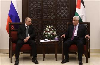 عباس يعرب عن تقديره جهود بوتين في دعم القضية الفلسطينية