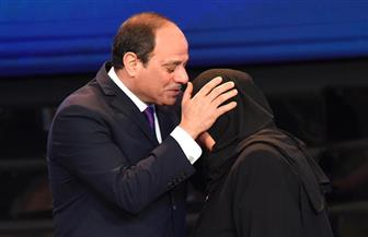 """والدة الشهيد ماجد عبدالرازق: """"ولادنا فداء لمصر.. ونساند السيسي في الحرب ضد الإرهاب"""""""