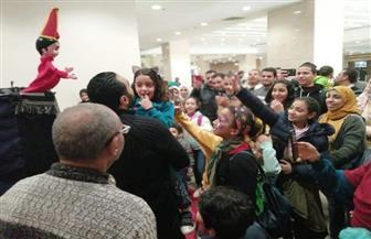 حضور كثيف للأطفال بمعرض القاهرة للكتاب | صور