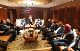 وزير الرياضة يبحث التعاون بين مصر وجنوب إفريقيا فى مجال مكافحة المنشطات