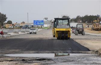 محافظ بني سويف يتفقد أعمال الرصف والتطوير بمحور عدلي منصور | صور