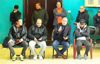 محمد مجد يجتمع بلاعبي المقاصة والجهاز الفني قبل لقاء الجيش | صور