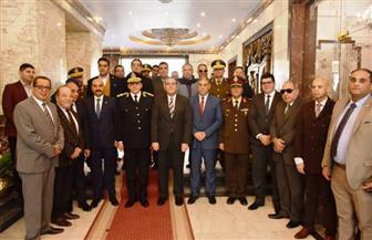 محافظ الشرقية والقيادات التنفيذية يزورون مديرية الأمن للتهنئة بعيد الشرطة | صور