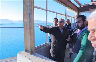 وزير النقل يتفقد ميناء بورتوفيق ويوجه بتطوير الأرصفة  البحرية| صور