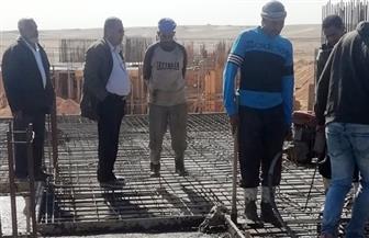 وزير الإسكان: بدء صب الخرسانة المسلحة لأسقف الدور الأرضى بمشروع جنة بملوي الجديدة