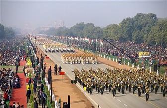 """عروض عسكرية ومسيرات احتجاجية في """"يوم الجمهورية"""" بالهند"""