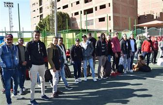 التربية الرياضية تبدأ فعاليات معسكرها التدريبي الكشفي بجامعة سوهاج |  صور