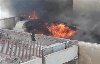 الحماية المدنية تتمكن من السيطرة على حريق إلتهم 3 طوابق بمحل تجاري بعمارات العبور | صور
