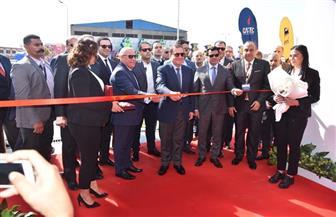 افتتاح أول محطة تموين سيارات بالغاز والكهرباء بمحافظة بورسعيد | صور