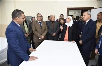 وزيرة التضامن تجتمع بالعاملين بمديرية القليوبية: أوصيكم خيرا بالمواطنين والفقراء | صور