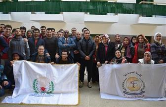 جامعة سوهاج تستقبل وفود الملتقي الصيدلي الثاني للجامعات المصرية | صور
