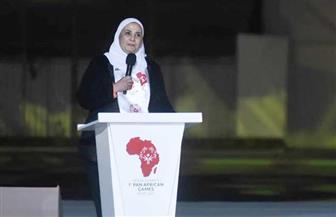 نيفين القباج تشهد افتتاح دورة الألعاب الإفريقية الأولى للأوليمبياد الخاص| صور